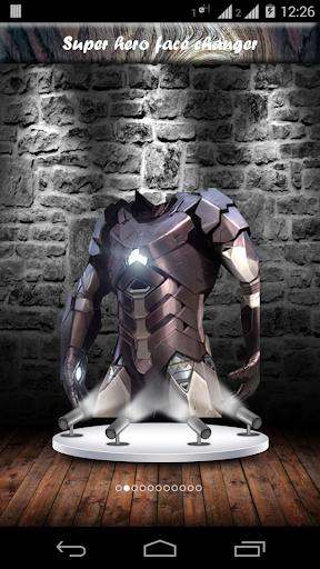 Super hero face changer