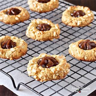 Dulce de Leche Cashew Cookies (gluten-free, grain-free, refined sugar free)
