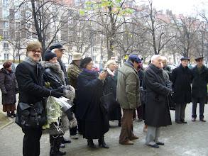 Photo: Od lewej: EH, J.Rawik, D.Michalski, w głębi Kazio Mazur, żona O.Buczka, A.Godlewska, T.Woźniakowski, Zb.Rymarz, O. Buczek, J.Zaradny.