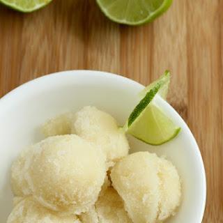 Lime-Lemon Sorbet Recipe