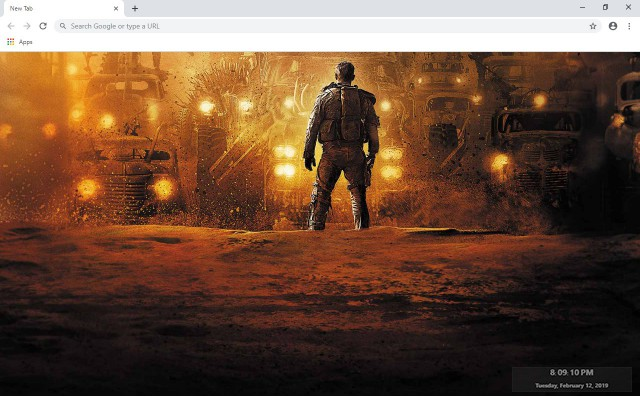 Mad Max New Tab & Wallpapers Collection