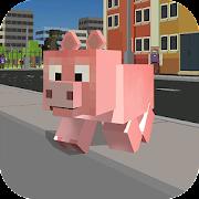 Game Blocky City Pig Simulator 3D APK for Windows Phone