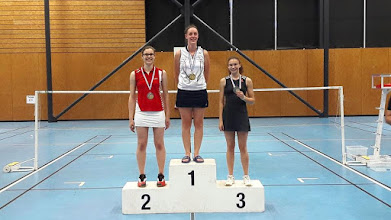 Photo: Championnat d'Alsace 2016 Simple Dames Honneur Médaille d'Or: Amandine Chanvrier