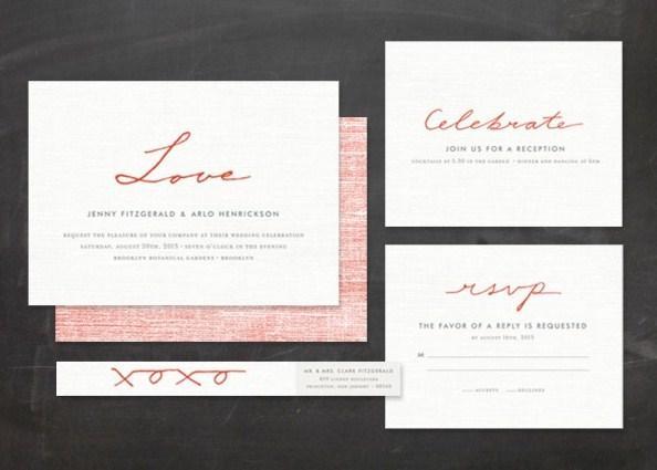 Unique Wedding Invitation Concept