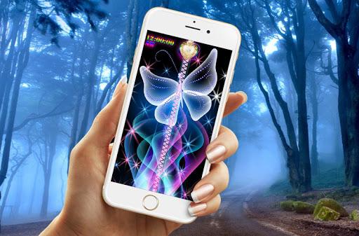 蝶の画面ロックプラス