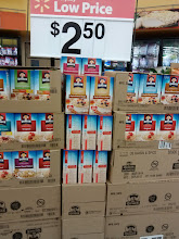 Photo: Seeing this display of oatmeal made me remember that I forgot to add oatmeal to my list! Sometimes displays are helpful!