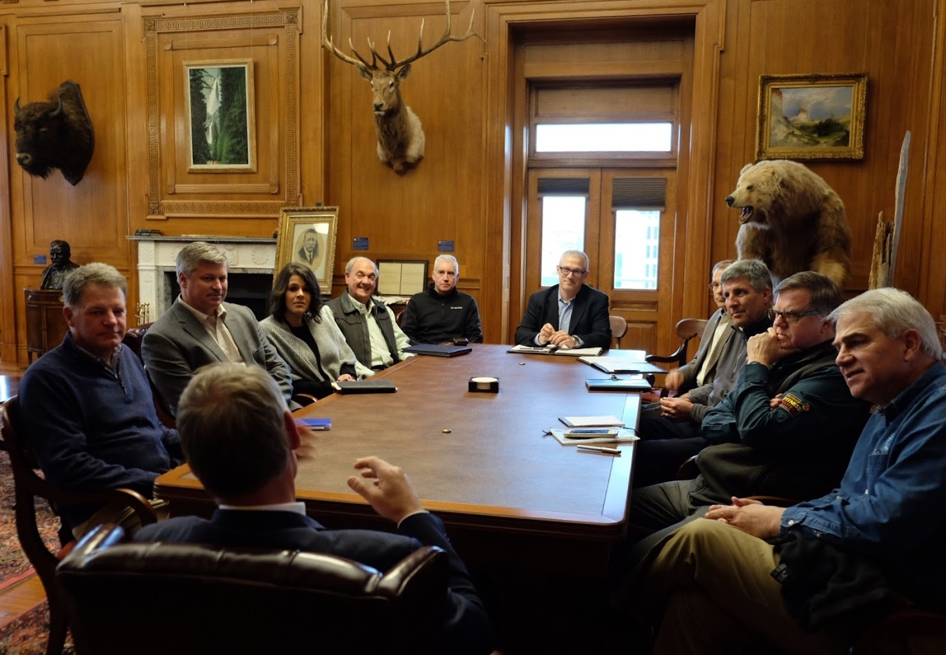 Recreation Leaders Meet with Sec. Zinke
