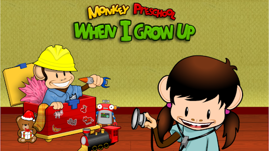 Monkey Preschool:When I GrowUp- screenshot thumbnail