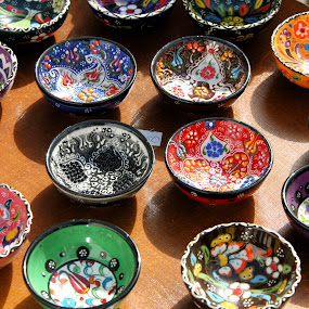 Bowls by Cal Brown - Artistic Objects Cups, Plates & Utensils ( abstract, dishes,  )