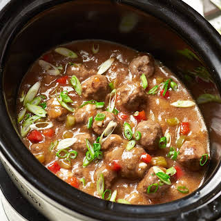 Healthy Sweet And Sour Meatballs Crock Pot Recipes.