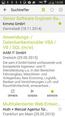 kimeta.de - Jobs, Jobbörse - screenshot