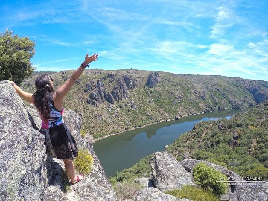 Rota dos Miradouros no Parque Natural do Douro Internacional   Portugal