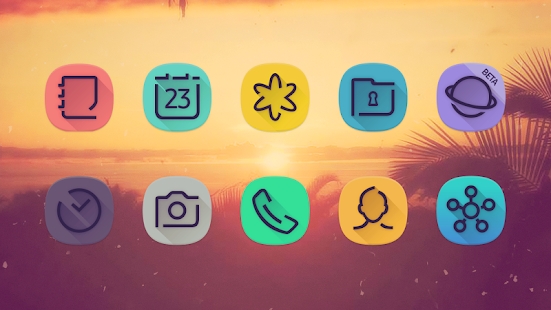 Viral - Free Icon Pack Screenshot