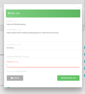 BitJob - Students MarketPlace- screenshot thumbnail