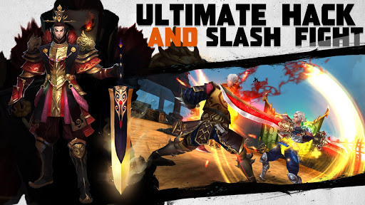 Dynasty Blades: Collect Heroes & Defeat Bosses apkpoly screenshots 3