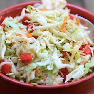 Skinny Sweet and Tangy Cole Slaw Recipe