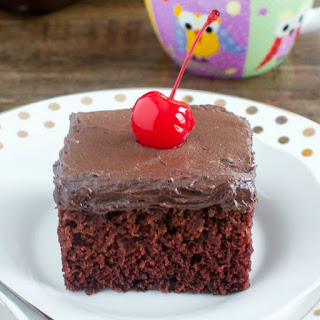Chocolate Crazy Cake.
