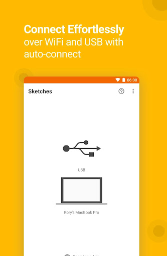 Crystal: Sketch Mirror for Android 2.3.8 screenshots 1