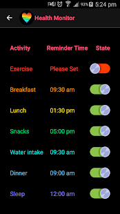 Health Monitor- screenshot thumbnail