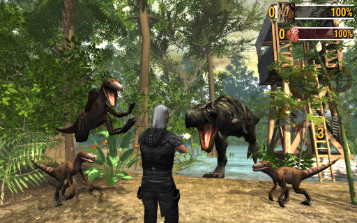 Dinosaur Assassin: Online Evolution screenshots 13