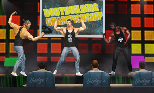 GYM Fighting Games: Bodybuilder Trainer Fight PRO apkmr screenshots 3