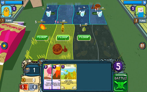 Card Wars - Adventure Time game for Android screenshot
