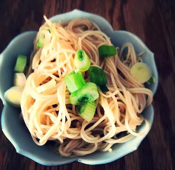 Shanghai Scallion Oil Noodles