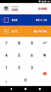 CoinCalc - Currency Converter/Exchange with Crypto Screenshot