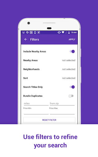 Screenshot for Stuff for Craigslist: free classifieds app in United States Play Store