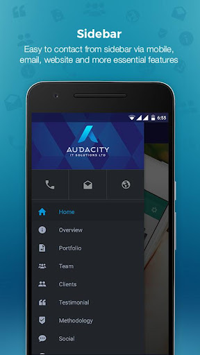 Audacity - Marketing App 1.0 screenshots 1