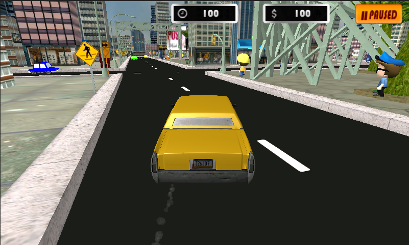Taxi Madness- screenshot