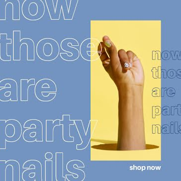 Party Nails - Instagram Post template