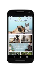 Petsonline- screenshot thumbnail