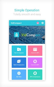 Video to MP3 Converter & Compressor – VidCompact 1