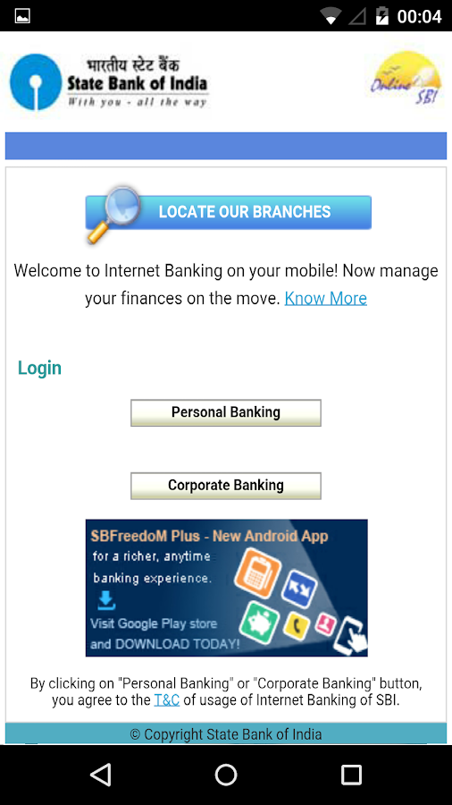 Download All in One Net Banking on PC