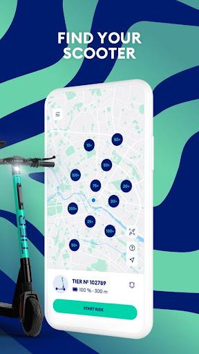 TIER: e-scooter sharing & more  screenshots 2