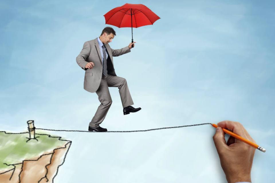 Resultado de imagem para empreendedor numa corda