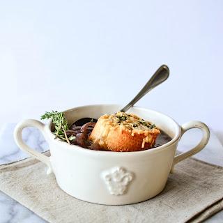 Single Lady French Onion Soup