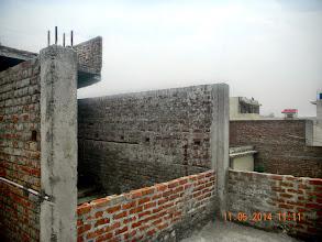 Photo: FF Mumty, AC Sheet yet to be put - D-41, P-3 GNOIDA, Built by Nanak Builders, Mr. Virender Batra