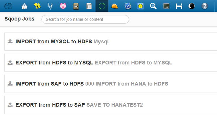 Exporting and Importing DATA to HANA with HADOOP SQOOP | SAP Blogs