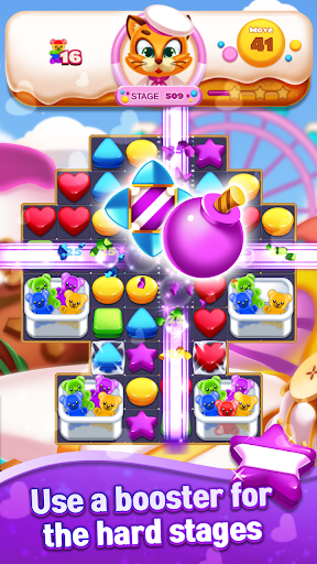 Sweet Cookie World : Match 3 Puzzle screenshots 5