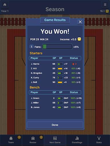 Hoop League Tactics 1.6.4 screenshots 23