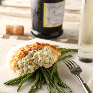 Crab-Stuffed Chicken Breasts.