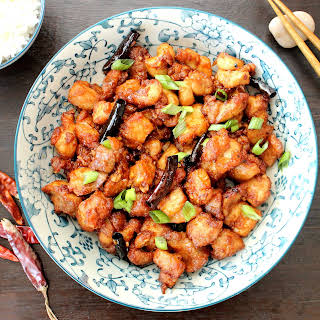 Authentic General Tso's Chicken.