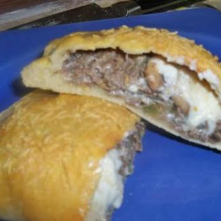 Philly Cheesesteak Calzones