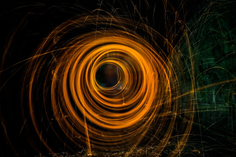 Cerchi di luce di Merlograziano