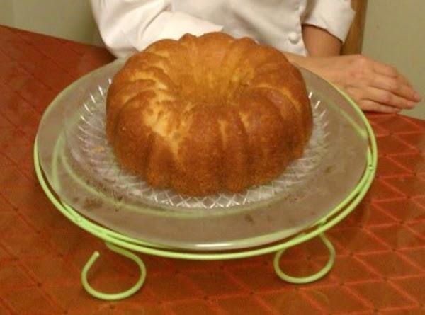 Butter Rum Cake Recipe