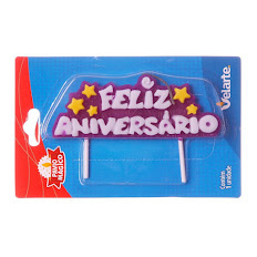 Vela especial (Parabéns, Feliz Aniversário)