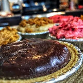 Chocolate Protein Pie.