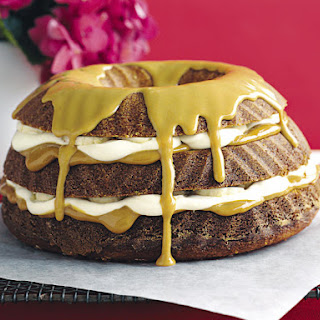 Banana Caramel Layer Cake